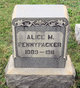 Profile photo:  Alice M Pennypacker