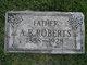 "Profile photo:  Absalom Brashears ""A.B."" Roberts"