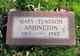 Profile photo:  Mary Tunison Addington