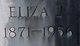 Eliza J <I>Davis</I> Akard