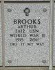 """Profile photo:  Arthur Julius """"Art"""" Brooks"""