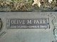 Olive Marie <I>Parr</I> Mahan