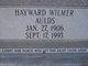 Hayward Wilmer Aulds