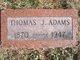 Profile photo:  Thomas Jasper Adams