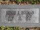 Minor J. Holman