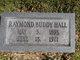 Raymond Buddy Hall