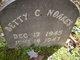 Betty C Noakes