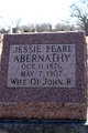 Profile photo:  Jessie Pearl <I>Jordan</I> Abernathy