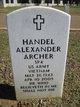 Profile photo:  Handel Alexander Archer