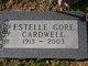 Estelle <I>Gore</I> Cardwell