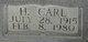 H. Carl Ballow