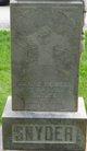 Mary Ellenor <I>Tidwell</I> Snyder