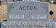 Evelyn Elaine <I>Hoff</I> Acton