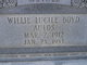 Willie Lucille <I>Boyd</I> Aulds