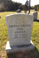 Profile photo:  America Virginia <I>Giles</I> Atkinson