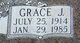 Grace Janette Olson