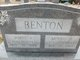 Profile photo:  Minnie F <I>Jirus</I> Benton