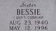 Profile photo:  Bessie Abson