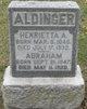 """Profile photo:  Abraham """"Abe"""" Aldinger"""