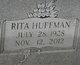 Rita <I>Huffman</I> Banes