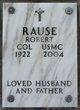 Col Robert Rause