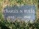 Profile photo:  Charles N. Ruess