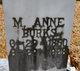 Profile photo:  Mary Anne <I>Moore</I> Burks