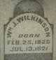 "William Jefferson ""Uncle Billy"" Wilkinson"