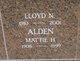 Profile photo:  Lloyd N Alden