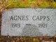 Profile photo:  Agnes Capps