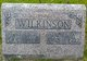 "Orlena Catherine ""Kate"" <I>Carriger</I> Wilkinson"