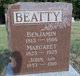 Profile photo:  Benjamin Beatty