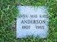 Anna Mae <I>Kaye</I> Anderson