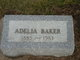 Profile photo:  Adelia P <I>Wadhams</I> Baker