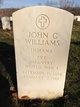 Pvt John Chalmers Williams