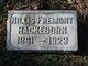 Hillis Fremont Hackedorn
