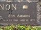 Profile photo:  Ann <I>Ammons</I> Lennon