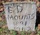 """Profile photo:  Edward """"Ed"""" Mounts"""