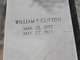 "William P. ""Bill"" Clifton"