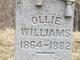 Ollie Williams
