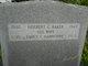 Herbert George Baker