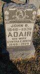Profile photo:  John R Adair