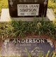 """Vesta Jean """"Jean"""" <I>Wilkinson</I> Simpson"""