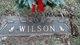 Alvis H Wilson