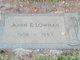 "John Edgar ""Buck"" Lowman"