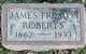 Mrs James Eliza <I>Preston</I> Roberts