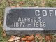 Profile photo:  Alfred S. Coffin, Sr.