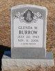 Profile photo:  Glenda M. Burrow