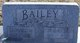 "Profile photo:  Frances E. ""Betty"" <I>Stepath</I> Bailey"