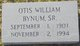 Otis William Bynum